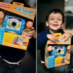 The twins get their own camera :: Fisher Price Kid Tough camera review and giveaway