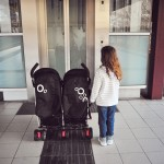 kieran & clover's new wheels :: a review of our Valco Evo2 for 2 stroller