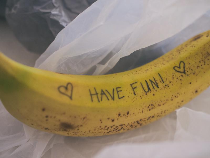 a-banana-note
