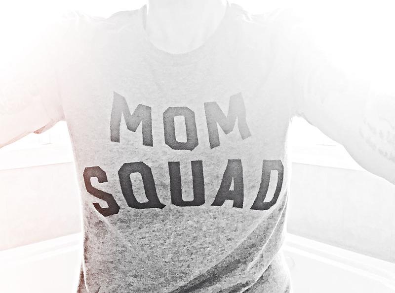 mom squad by catherine brink-flahaut for sesameellis.com