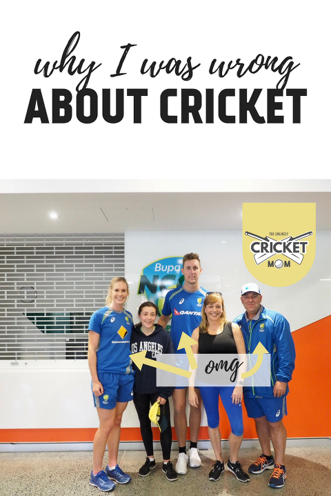 Holly Ferling, Gemma, Billy Stanlake, Sesame and Darren Lehmann at the Bupa National Cricket Centre